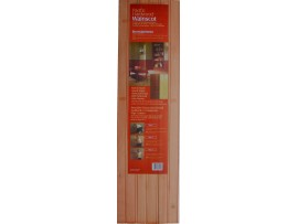 Eucalyptus wainscot - look of expensive hardwood at 1/2 the cost