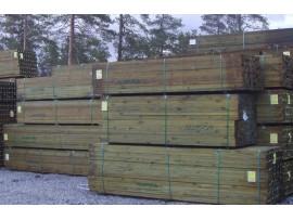 Pressure treated Pinus Taeda