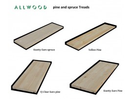 "Softwood 36"" - 42"" - 48"" Treads"